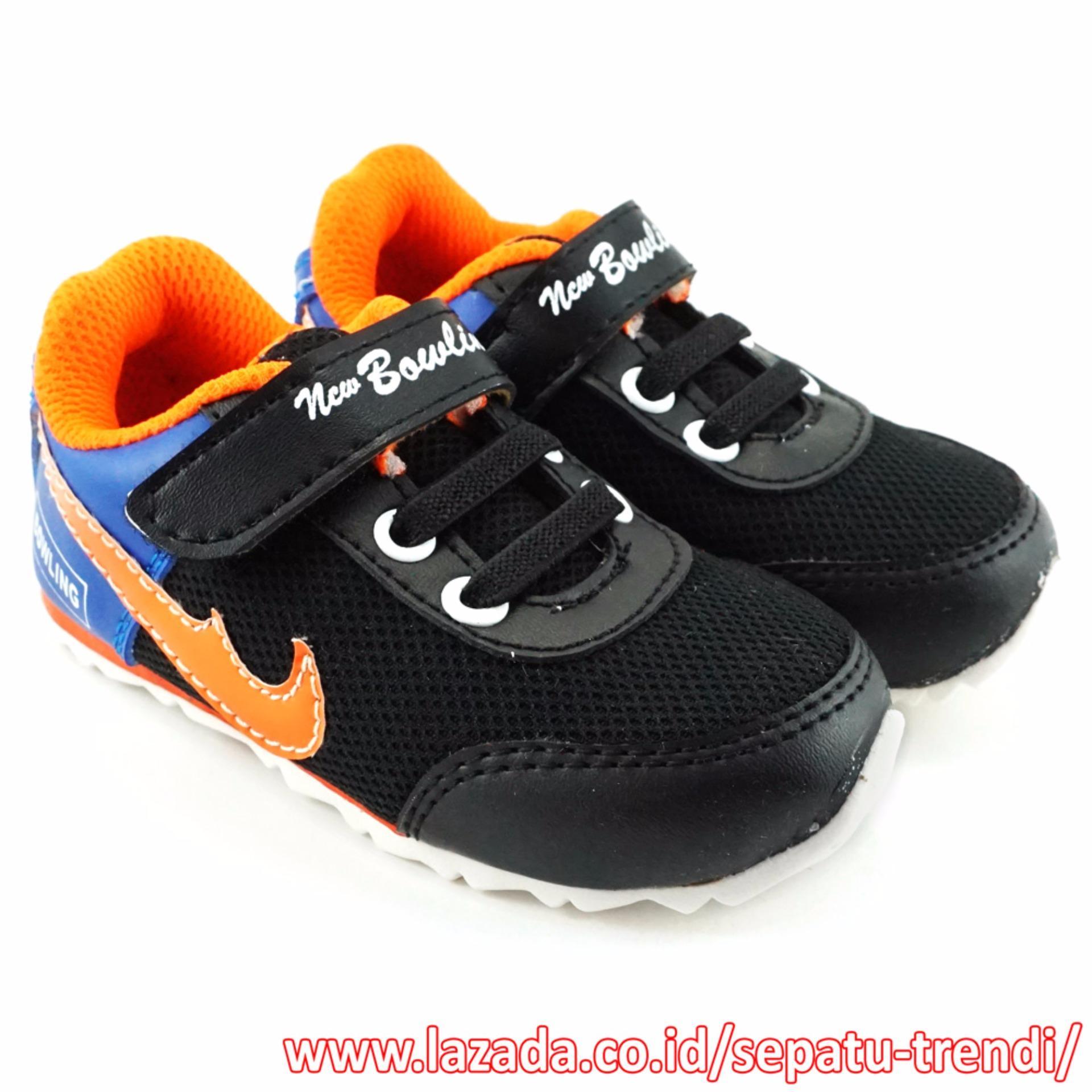Jual Trendishoes Sepatu Anak Bayi Sporty New Bowling Biru Trendishoes Murah