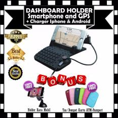 Harga Car Holder Dashboard Android Iphone Dudukan Mobil Stand Gratis Card Atm Dompet Tas Case Dompet Buku Passport Car Holder Kaca Mobil