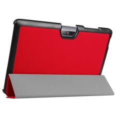 Tri-Fold Slim Case Cover For Acer Iconia One 10 B3-A30 Tablet 10.1 Inch RD - intl