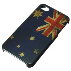 Tricolor Retro Snap-on More National Flag Hard Back Case Cover for iPhone 4S 4G
