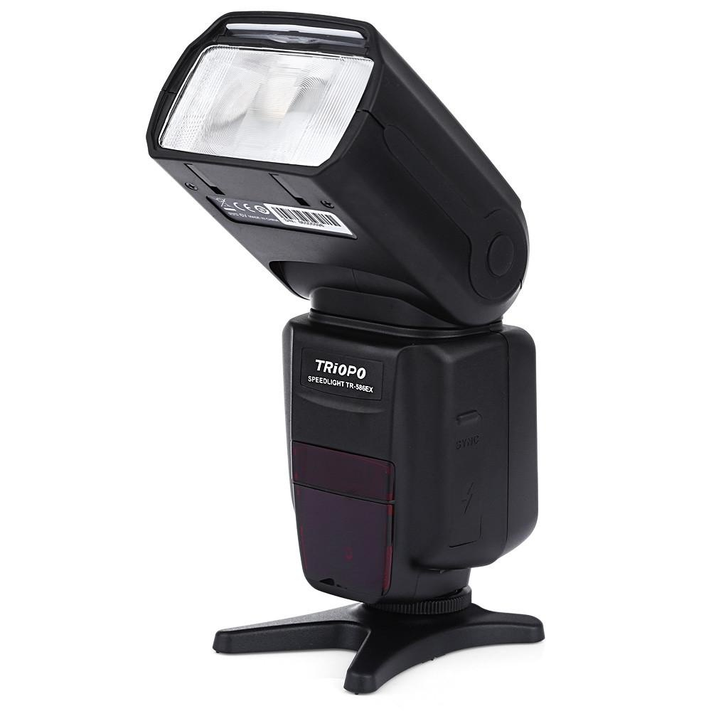 Review Triopo Tr 586Ex N Wireless Ttl Master Slave Flash Speedlite Untuk Nikon Intl Oem Di Tiongkok