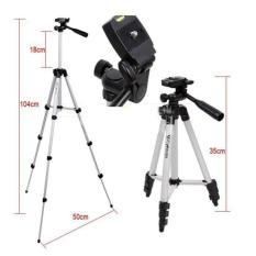 Tripod Kamera / HP Tinggi 1M Profesional WT-3110A + Holder U