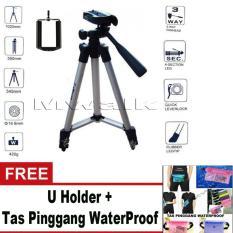 Tips Beli Tripod For Camera And Smartphone Gratis U Holder Tas Pinggang Waterproof