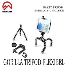Berapa Harga Tripod Gorila Kamera Action Flexible Free U Holder Hp Gorillapod Di Indonesia