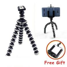 Tripod Gorilla Fleksibel Tripot Xtra Large Vlog Camera Action Dslr Hp + Free Holder U - Size XL