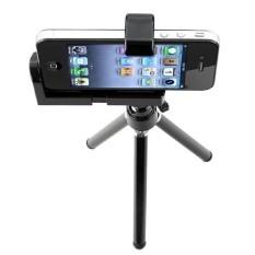 Tripod Stand Camera Baru Mobile Rotatable Holder untuk Apple IPhone 5 4 S 4g IPod