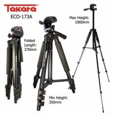 Tripod Takara ECO-173A + Holder U buat Hp