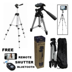 Tripod Weifing WT-3110a + Gratis Holder U + Bluetooth Camera Shutter