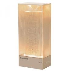Tronsmart Beam Bluetooth Speaker dengan Lampu Suasana Hati, 18 Jam Waktu Bermain, 15 Watt Dual Driver Deep Bass Wireless Bluetooth 4.1 Speaker untuk Rumah, Iphone 8/8 Plus/X, Android Samsung CATATAN 8-Intl