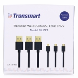 Beli Tronsmart Fast Charging Micro Usb To Usb 2 Cable 1 Meters 3Pcs Indonesia