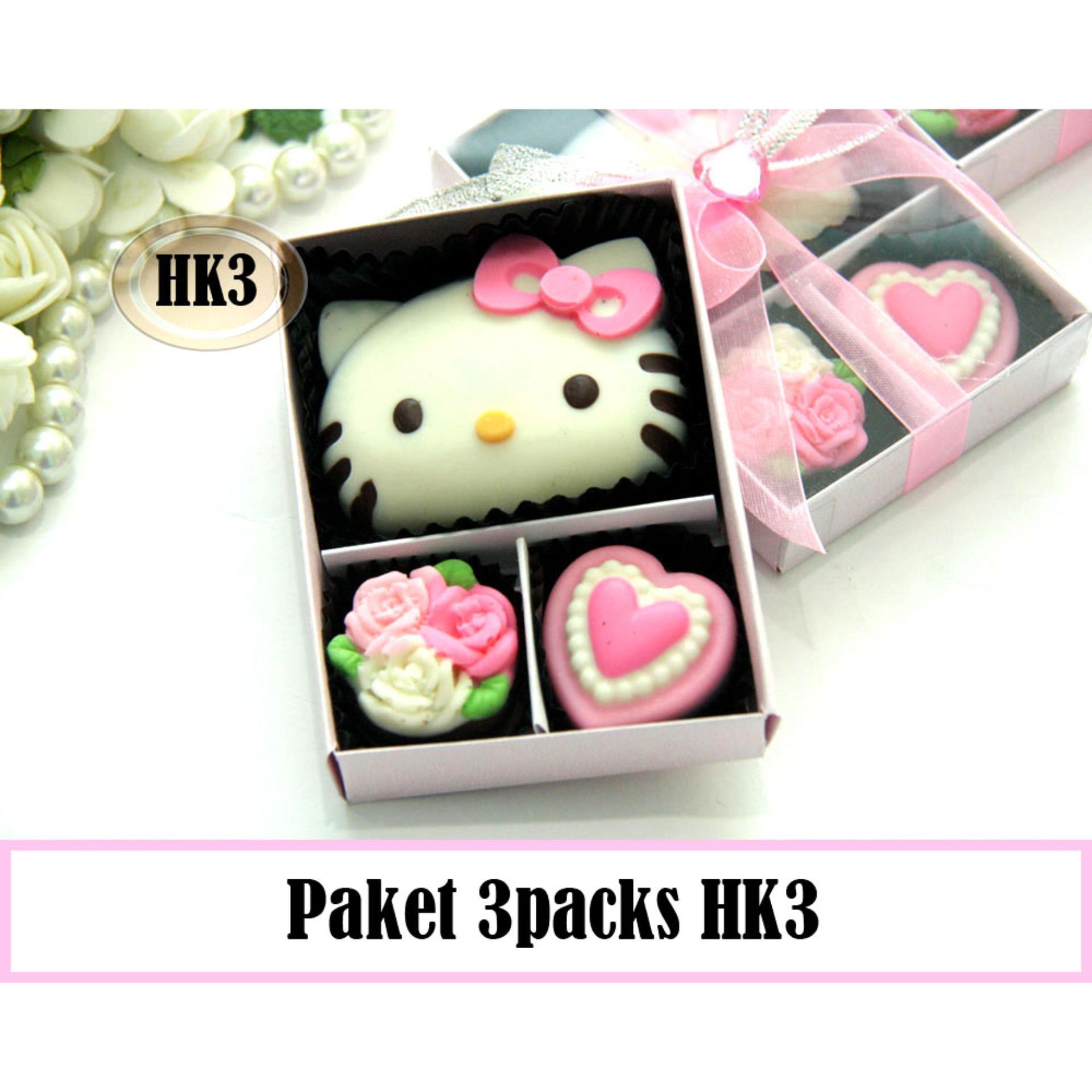 Trulychoco Paket Coklat Love Editions Hk3 3Packs Pink Trulychoco Diskon 40