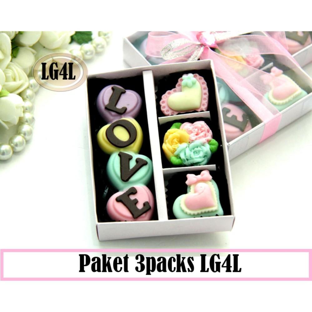 Toko Trulychoco Paket Coklat Love Editions Lg4L Love Pink Yang Bisa Kredit