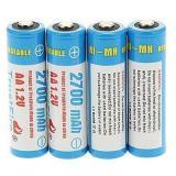 Promo Toko Trustfire Baterai Aa Ni Mh 2700Mah 1 2V 4Pcs Blue