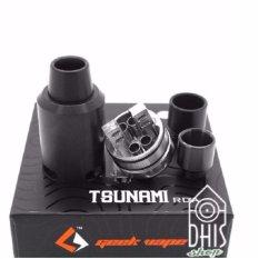 Tsunami RDA 22mm Steel Atomizer Vapor Rokok Elektrik - Tank Vape For Pico, Subox, Vgod, Ijust