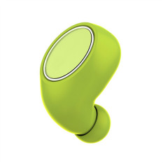 TTLIFE Gaib Ultra Kecil Mini Bluetooth Pengadaan Alat Pendengar V4.1 Olahraga headphone Ponsel Pintar Headset untuk IPhone Samsung (hijau)