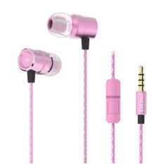 TTLIFE Ovann A100-ear headphone Kawat (pink)-Intl