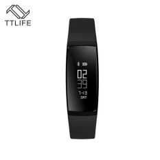 TTLIFE V07 Smart Band Blood Pressure Bracelet Heart Rate FitnessTracker Pedometer Bluetooth 4.0 Wristband Watch For iOS Android - intl