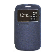 Tunedesign FolioAir Case for Blackberry Classic Q20 Casing Cover Flip - Navy