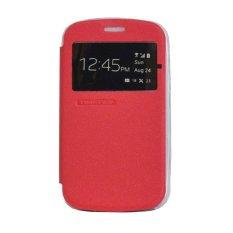 Tunedesign FolioAir Case for Blackberry Classic Q20 Casing Cover Flip - Merah