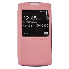 Tunedesign FolioAir Case for OPPO Find 5 Mini Casing Cover Flip - Pink