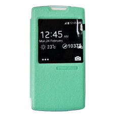 Tunedesign FolioAir Case For Oppo Neo R831 Casing Cover Flip - Hijau
