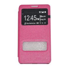 Tunedesign FolioShell Case For Samsung Galaxy Grand Duos Casing Cover Flip - Merah Muda