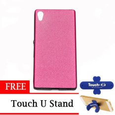 TUNEDESIGN LiteAir2 UltraThin Skin for Sony Xperia Z3 Plus - Pink +  Touch U Stand