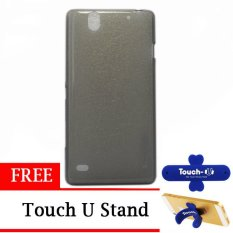 TUNEDESIGN LiteAir UltraThin for Sony Xperia C4 - Grey + Gratis Touch U Stand