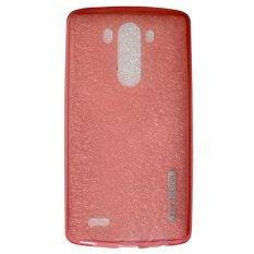 TUNEDESIGN LiteAir Ultrathin 0.3mm LG G3 - Peach/Salem TPU Jelly Silicone Softcase Backcase Backcov