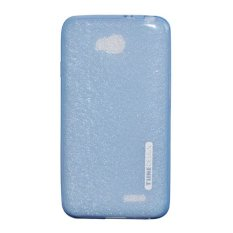 TUNEDESIGN LiteAir Ultrathin 0.3mm LG L70 - Blue/Biru TPU Jelly Silicone Softcase Backcase Backcover Case Hp Casing Handphone