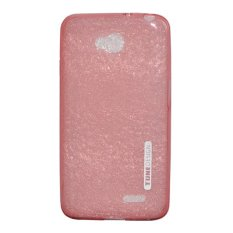 TUNEDESIGN LiteAir Ultrathin 0.3mm LG L70 - Peach/Salem TPU Jelly Silicone Softcase Backcase Backco