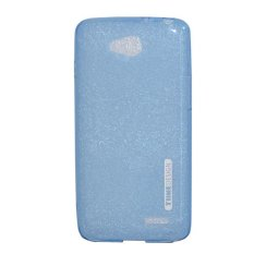 TUNEDESIGN LiteAir Ultrathin 0.3mm LG L90 - Blue/Biru TPU Jelly Silicone Softcase Backcase Backcover Case Hp Casing Handphone