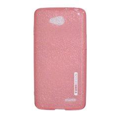TUNEDESIGN LiteAir Ultrathin 0.3mm LG L90 - Peach/Salem TPU Jelly Silicone Softcase Backcase Backco