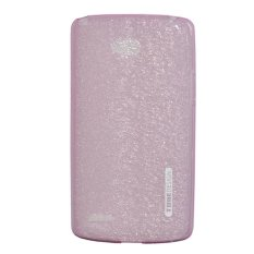Tunedesign LiteAir TPU Soft Case For LG L80 Dual Sim Casing Cover - Merah Muda