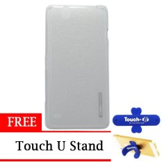 TUNEDESIGN LiteAir UltraThin for Sony Xperia C4 - Clear + Gratis Touch U Stand