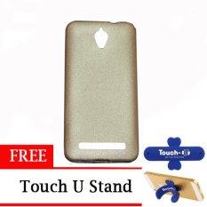 TUNEDESIGN LiteAir2 UltraThin Skin Asus Zenfone C - Gold/Emas TPU Jelly Case Kulit Softcase Silicon