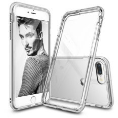 TUNEDESIGN PyShell Hybrid Apple iPhone 6 Plus/6s Plus - Clear/Transparan Bening TPU PC Hardcase Protective Bumper Case Hp Casing Handphone