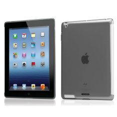 TUNEWEAR Softshell Case for IPAD 3 Smoke + Gratis Screen Protektor