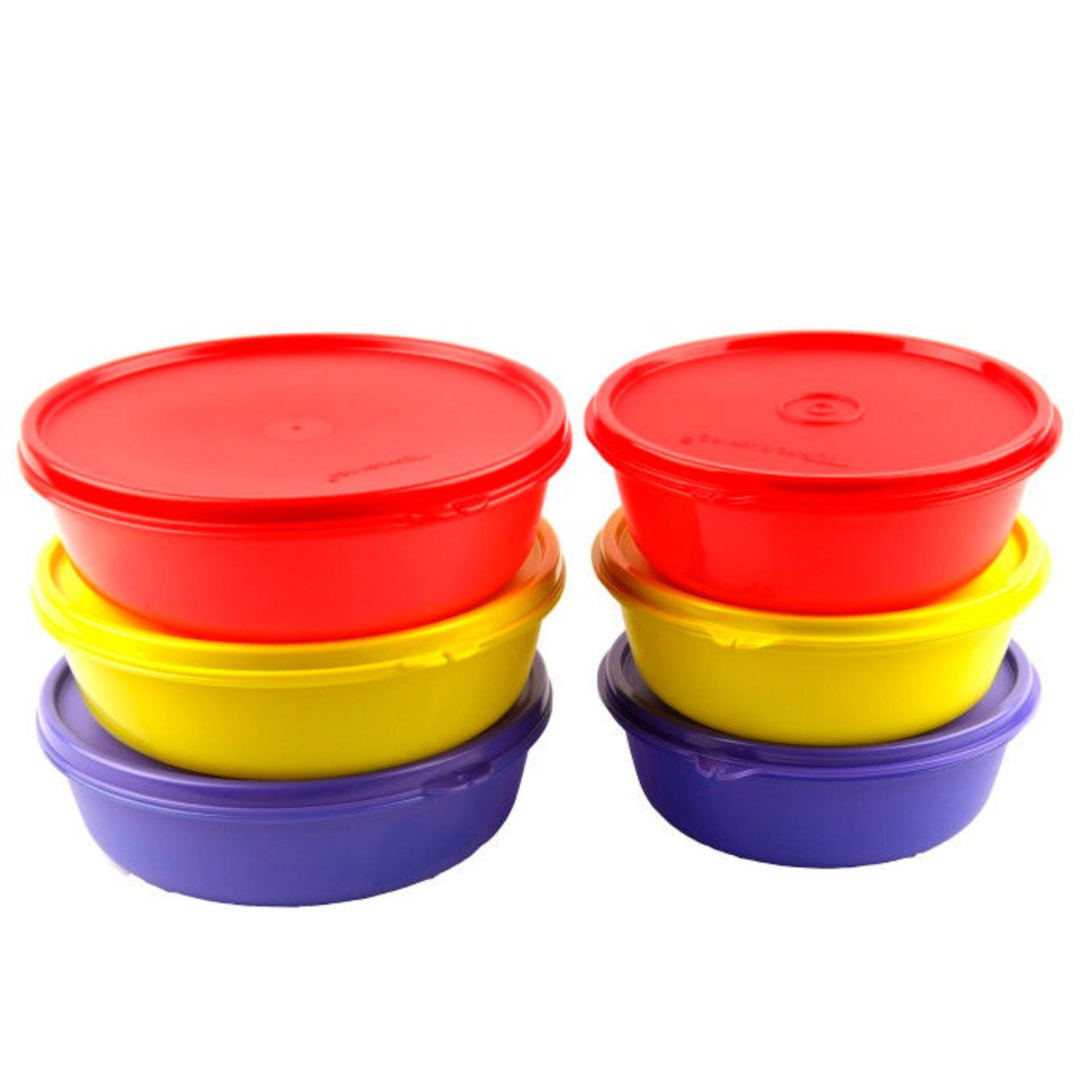 Tupperware Multi Bowl Set (6)