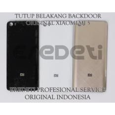 Beli Tutup Belakang Backdoor Original Xiaomi Mi 5 Black Terbaru