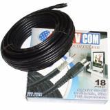 Tv Com Coaxial Cabel Kabel Antena 18 Meter Kwalitas 1 Tv Stick Diskon 40