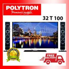 TV LED SPEAKER POLYTRON PLD 32 T100 HARGA PABRIK