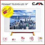 Jual Tv Monitor Led 19 Inch Cmm Usb Movie Hdmi Vga Av Putih Murah