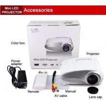 "TV PROMO projector MURAH Home Theater PROMO proyektor MURAH Portable PROMO projector MURAH mini Up to 100"" HDMI ATV AV USB SD VGA Tivi Tuner TH4G"