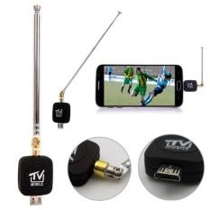 TV Penerima Saluran DVB-T Mikro USB HD Antena Dongle untuk Ponsel Android Ponsel-Intl