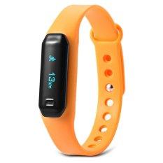 Tv Tv U01 Oled Touch Screen Smart Wristband With Dialog Bluetooth Chip Sleep Monitoring(Sweet Orange)