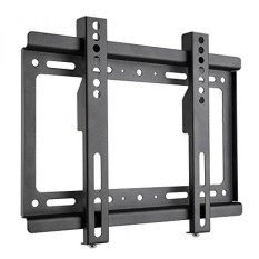 TV Wall Mount Bracket Low Profile untuk Paling 14-42 Inch Hingga VESA 200x200 4 K HD LED LCD Plasma Vizio Sony LG Outdoor Monitor Komputer 24 26 30 32 36 40 Inch Smart TV Wall Mount Bracket Pemuatan 55lbs-Intl