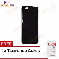 Twelven Case Slim Matte For Oppo F3 - Free Tempered Glass