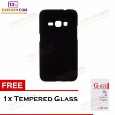 Twelven Case Slim Matte For Samsung J1 2016 - Free Tempered Glass