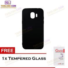 Twelven Case Slim Matte For Samsung J2 Pro 2018 - Free Tempered Glass